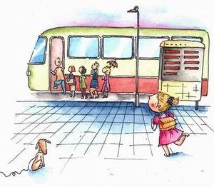 人的一生,就像乘坐一辆公交车……
