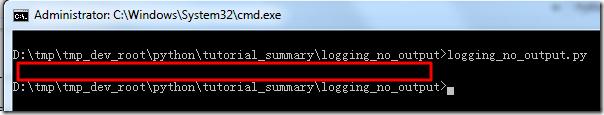 【已解决】使Python中的logging的日志内容不输出到(Windows的cmd,Linux的terminal等)终端中