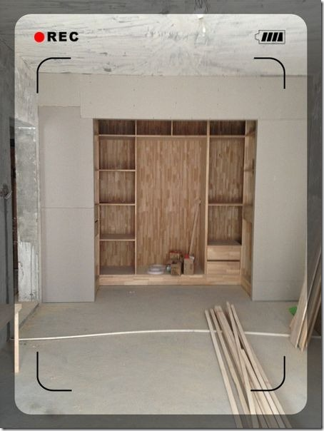 main room fitment with cloakroom