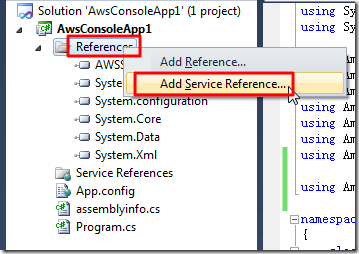 reference add service reference