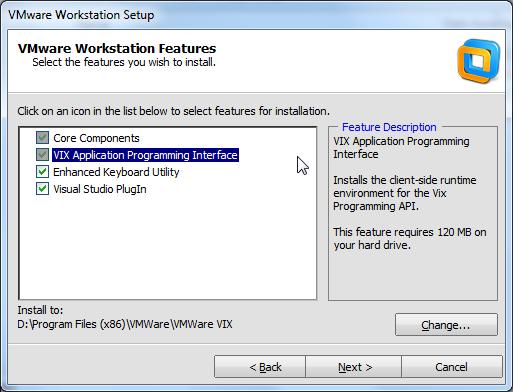 VIX application programming interface