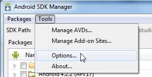 已解决】ADT中通过Android SDK Manager去安装x86的image时无法