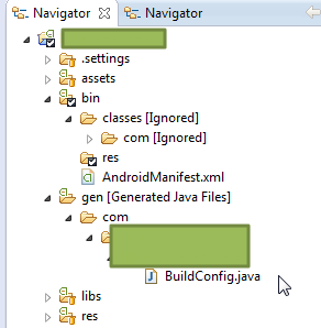still not gen r.java file