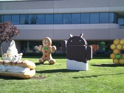 Android 4.0 and later The REAL Ice Cream Sandwich