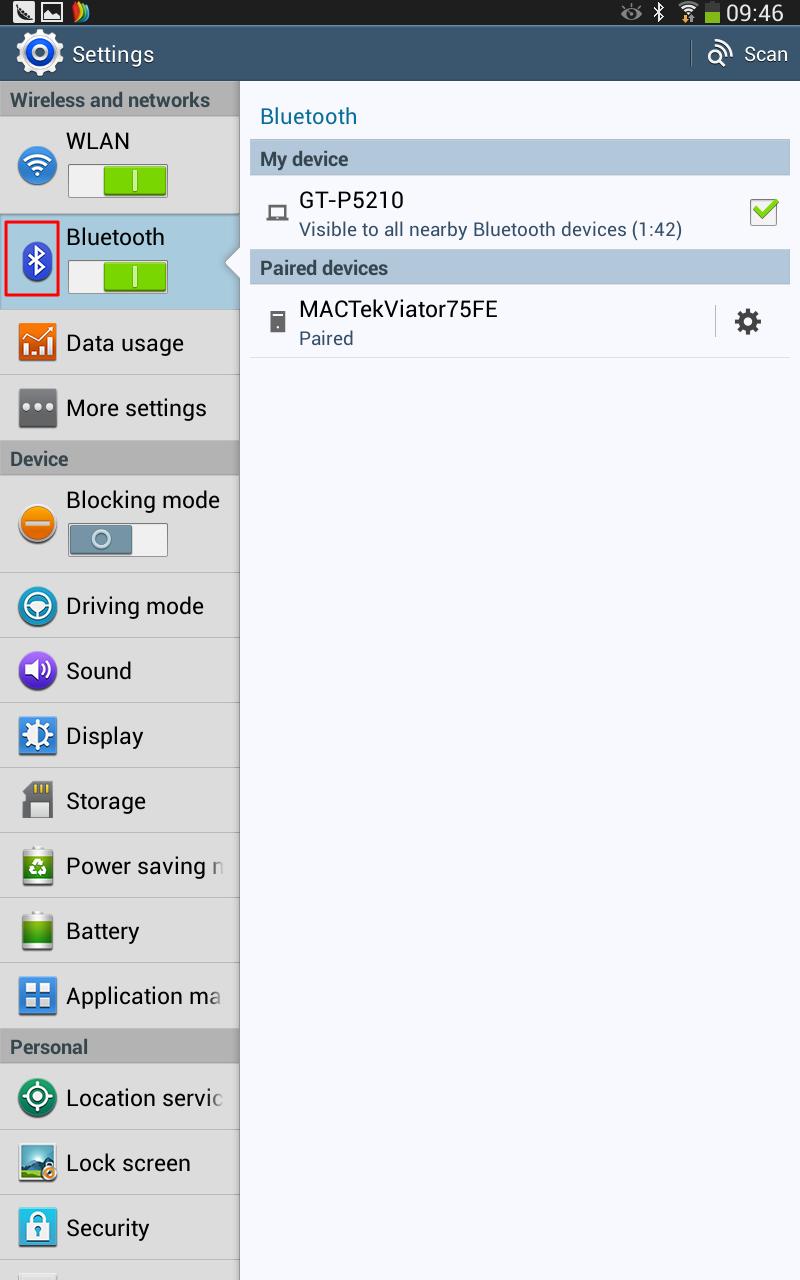 【记录】两个Android设备(一个手机:三星Galaxy S II (GT-I9100G),一个平板:三星Galaxy Tab 3 10.1 (GT-P5210))之间通过蓝牙传输文件