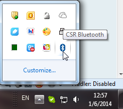 sys icon csr bluetooth