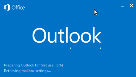 prepare outlook for first use 5 percent