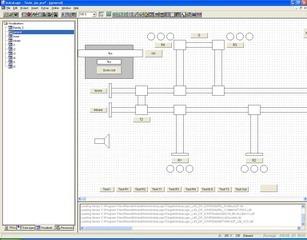 indralogic main windows for visualization