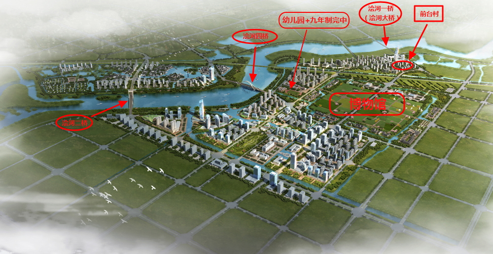 visual effect of guzhen south district planning added note