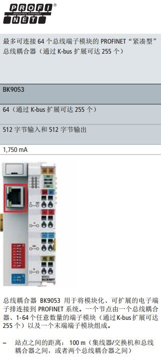 automation bus interface look like profinet
