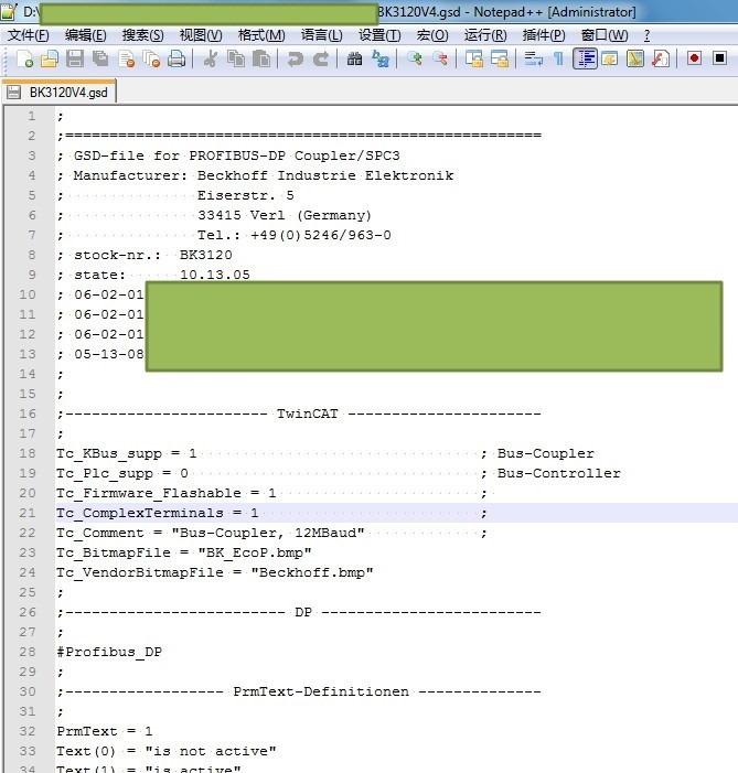 npp open bk3120v4 gsd file