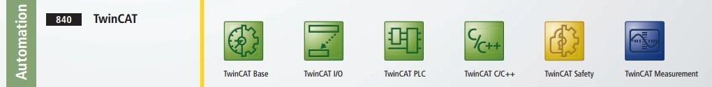 twincat contain many things base io plc c c   safety