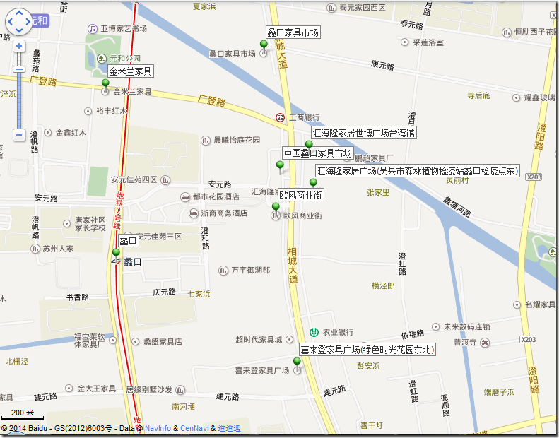 jiangsu likou furniture market locations