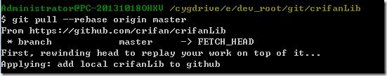 try git pull rebase origin master