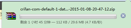 download crifan com default database and files