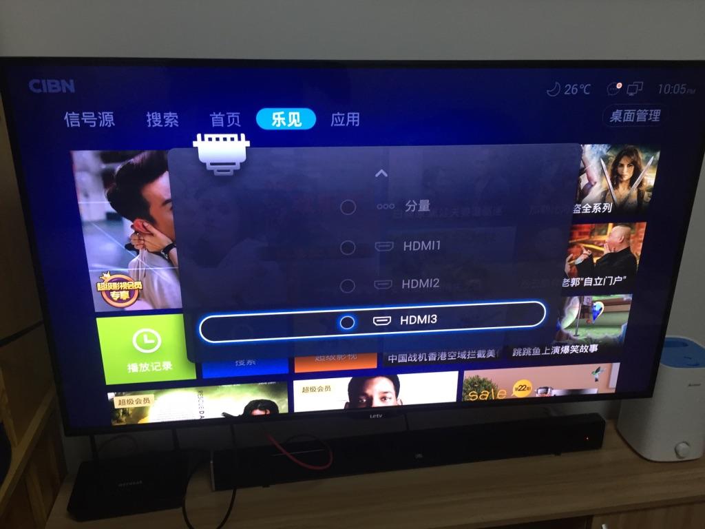 【记录】用绿联的USB转VGA+HDMI将锤子M1L通过HDMI投影到乐视电视