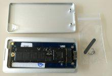 【记录】把换下的120G的SSD装回OWC的移动硬盘盒并测速