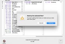 [记录]尝试给Mac清空缓存和查看空间占用