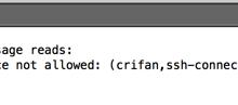 【已解决】Mac中SecureCRT用SSH私钥登陆远程服务器