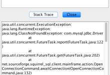 [已解决]Mac中连接MySQL数据库