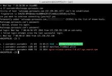 [记录]在Mac中使用iTerm2通过SSH连接远程服务器