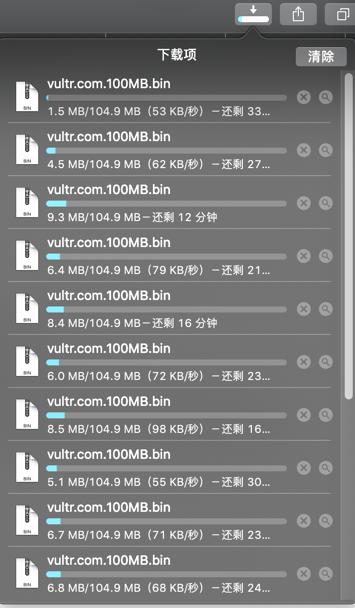 【记录】Vultr国内连接访问速度测试