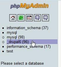 【整理】drupal:当白屏的时候,如何去清除表项的缓存(cache table)